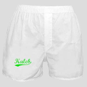 Vintage Kaleb (Green) Boxer Shorts