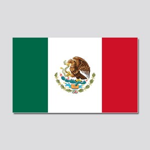 Mexican Flag Car Magnet 20 X 12