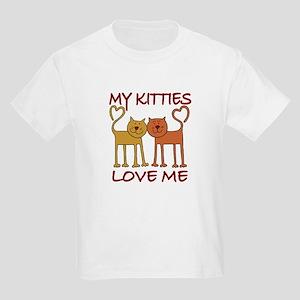 My Kitties Love Me Kids T-Shirt