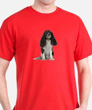 Cavalier King Charles Picture - T-Shirt