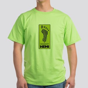 HEMI FT PRNT Green T-Shirt