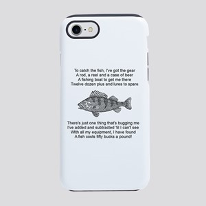 Fisherman's Poem iPhone 8/7 Tough Case