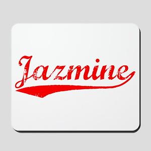 Vintage Jazmine (Red) Mousepad