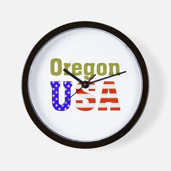 Oregon USA Wall Clock