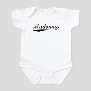 Vintage Madonna (Black) Infant Bodysuit