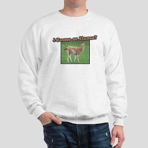 Como Se Llama? Sweatshirt