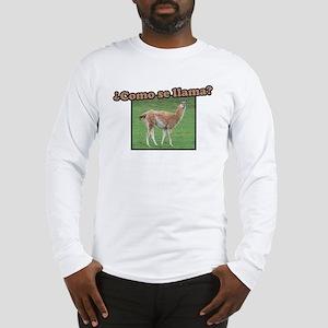 Como Se Llama? Long Sleeve T-Shirt