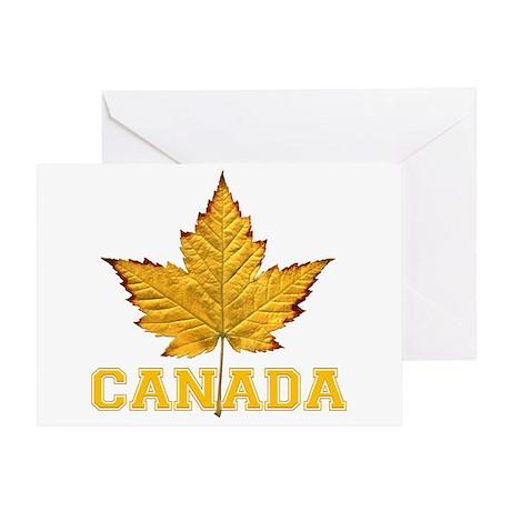 Canada Souvenir Varsity Greeting Card