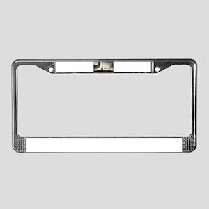 Divine Warrior License Plate Frame