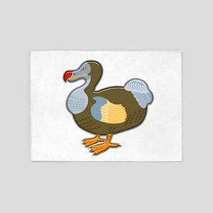 Dodo Bird 5'x7'Area Rug