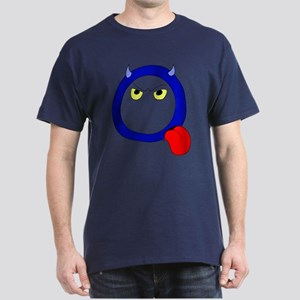 Monster Letter Q Dark T-Shirt