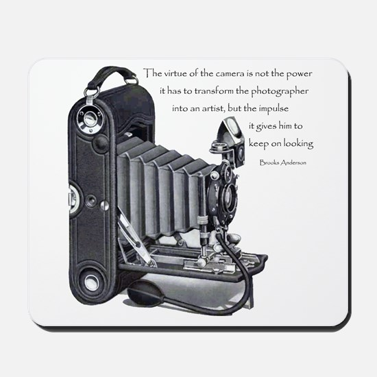 Anderson Camera Quote Mousepad