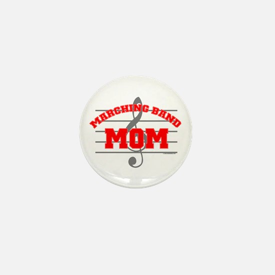 Marching Band Mom Mini Button