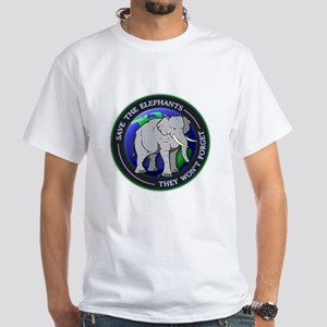 Save The Elephants Dark T-Shirts T-Shirt
