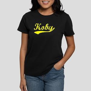 Vintage Koby (Gold) Women's Dark T-Shirt
