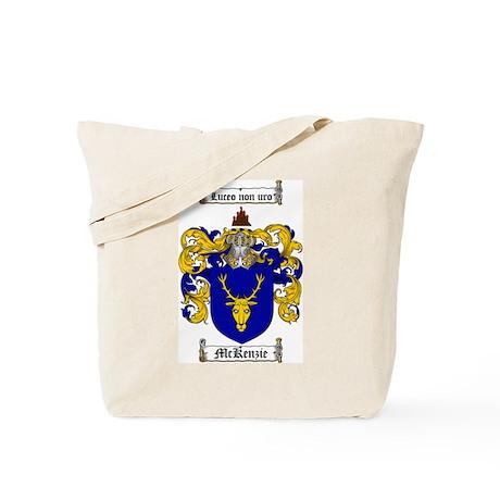 McKenzie Family Crest Tote Bag