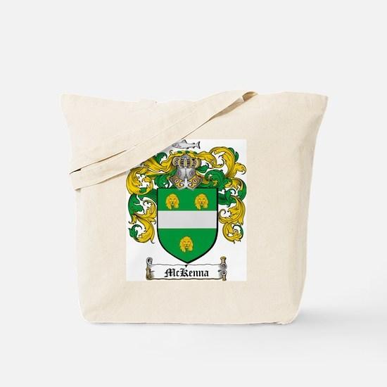McKenna Family Crest Tote Bag