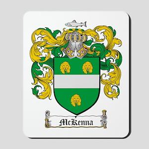 McKenna Family Crest Mousepad