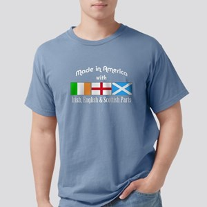 Irish, English Scottish Parts - for dark T-Shirt