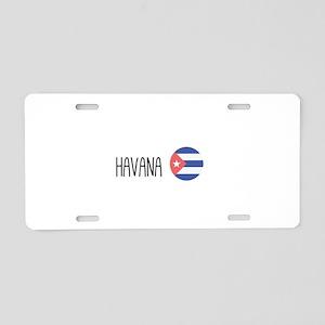 Havana Aluminum License Plate