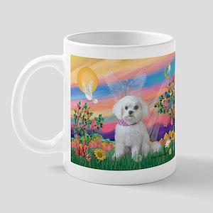 Guardian Angel / Maltese (R) Mug
