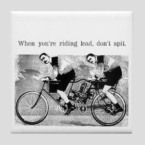Don't Spit Tile Coaster