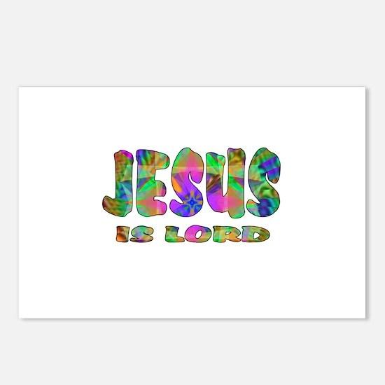 Jesus is Lord Postcards (Package of 8)