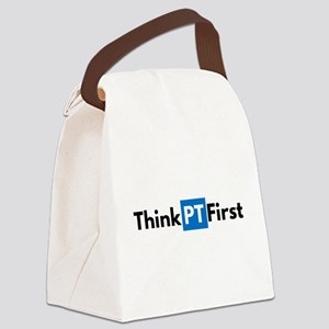 #ThinkPTFirst Canvas Lunch Bag