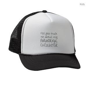 47cfed5f18b Roswell Alien Kids Trucker Hats - CafePress