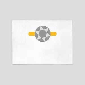 diamond 5'x7'Area Rug