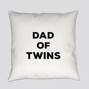 Dad of Twins Everyday Pillow