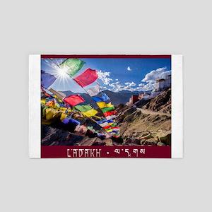 Visit Ladakh India 4' x 6' Rug