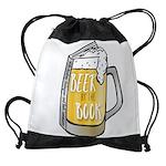 Beer by the Book - logo Drawstring Bag