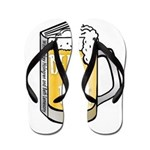 Beer by the Book - logo Flip Flops