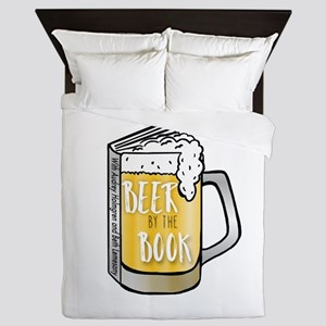 Beer by the Book - logo Queen Duvet