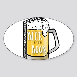 Beer by the Book - logo Sticker