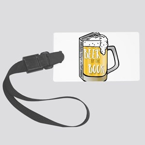 Beer by the Book - logo Luggage Tag