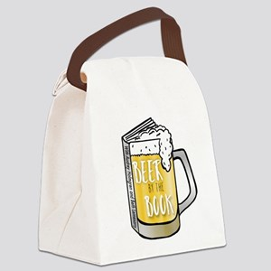 Beer by the Book - logo Canvas Lunch Bag