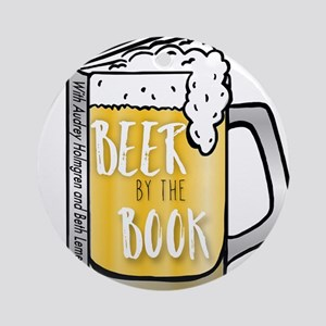Beer by the Book - logo Round Ornament