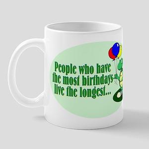 Birthday Turtle Mug