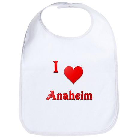 I Love Anaheim #21 Bib