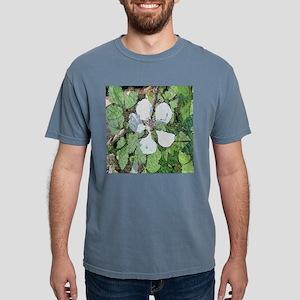 Wild Blackberry Flower Mens Comfort Colors Shirt