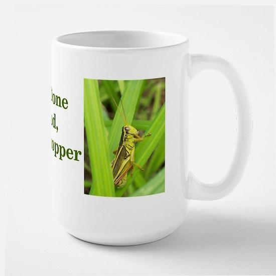 Grasshopper Large Mug