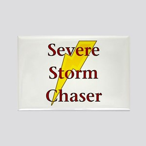 Severe Storm Chaser Rectangle Magnet