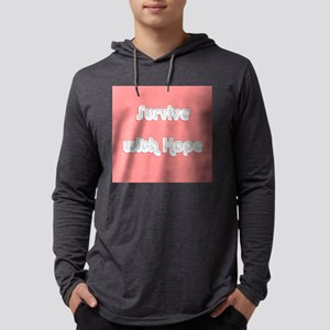 Survive w/ Hope Cancer Survivo Long Sleeve T-Shirt