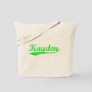Vintage Kayden (Green) Tote Bag