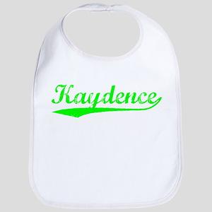 Vintage Kaydence (Green) Bib