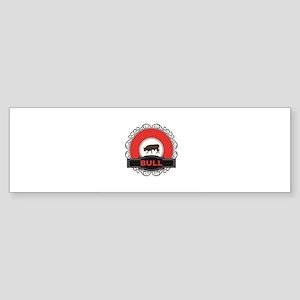 red bull ring Bumper Sticker