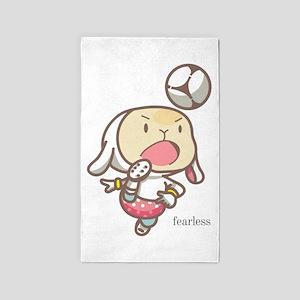 Soccer Lamb Fearless Area Rug
