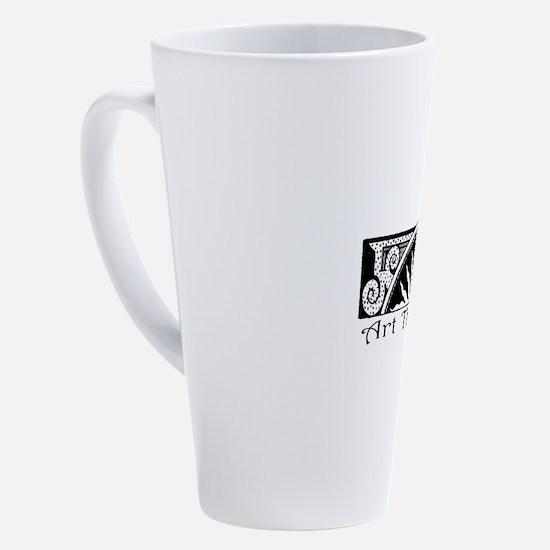 Cute Art 17 oz Latte Mug